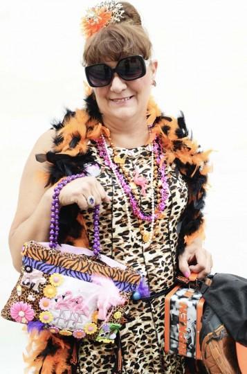 """Honfest — June 8, 2013: """"O's hon"""" Julie Porter, 50 of Baltimore at Honfest. (J.M. Giordano for The Baltimore Sun)"""