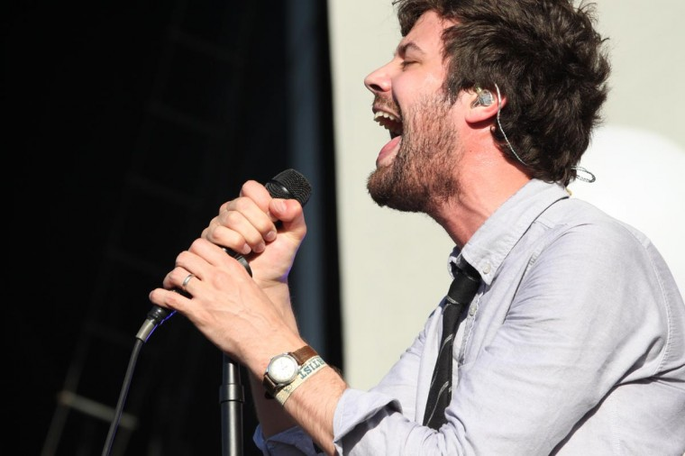 Passion Pit performed June 23, 2013 at the Firefly Music Festival in Dover, Delaware. (Credit: Andrew Windham for The Baltimore Sun)