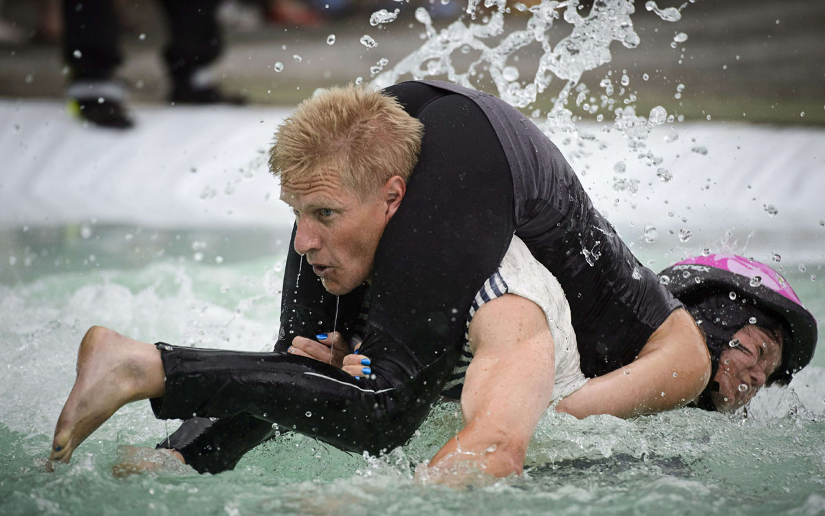 wife carrying festival in finland