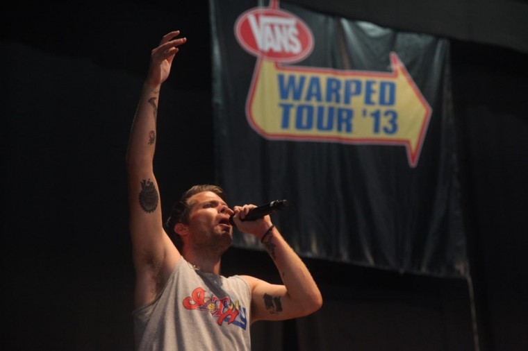 Vans Warped Tour 2013: 30h!3 performed July 10 at Merriweather Post Pavilion. (Credit: Kaitlin Newman)