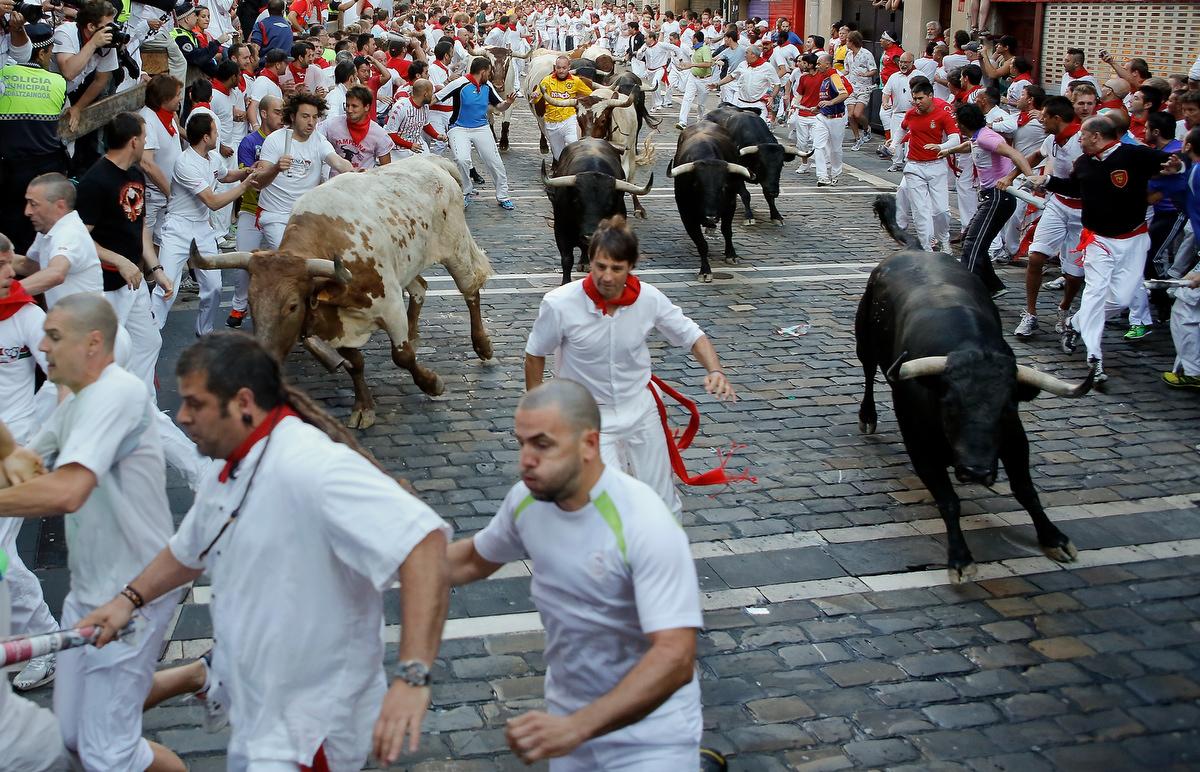 Fiesta De San Fermin Running Of The Bulls – Day 3