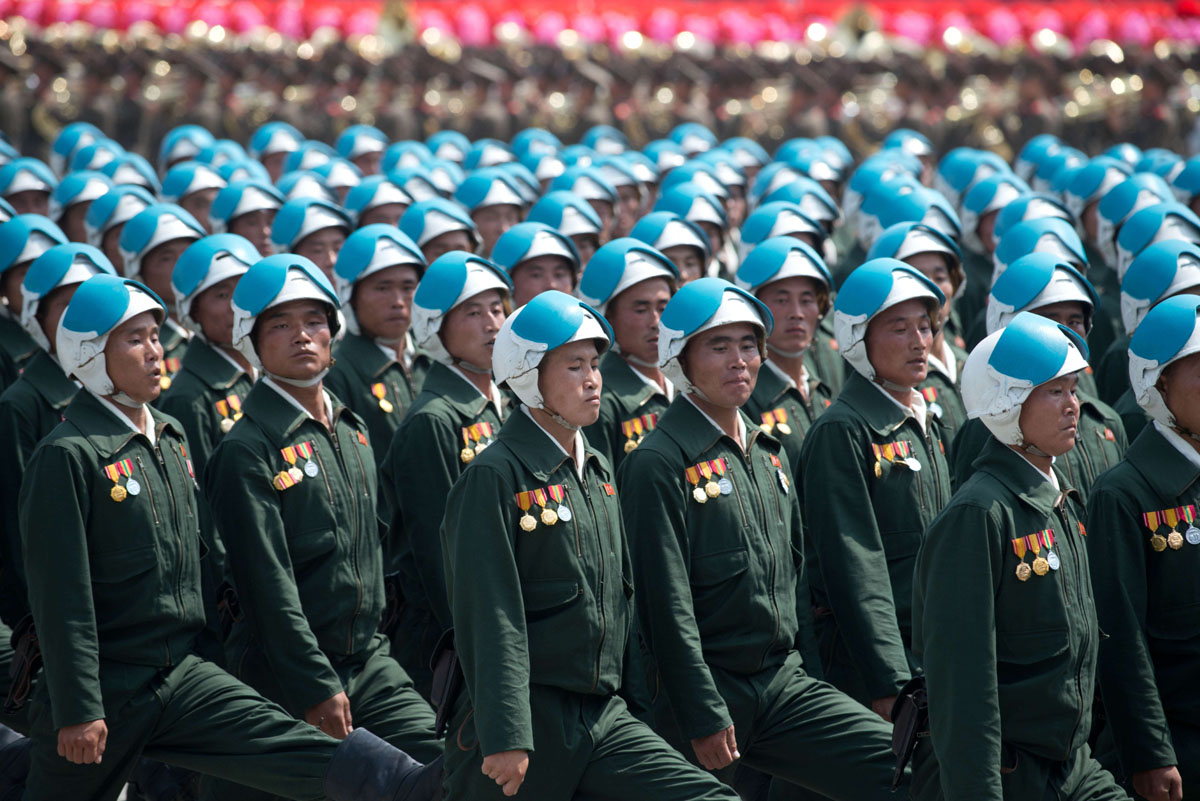 North Korea military parade celebrates 60th anniversary of Korean War armistice