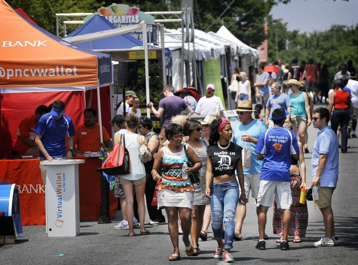 The 32nd Artscape is underway Friday afternoon. (Kim Hairston/The Baltimore Sun)