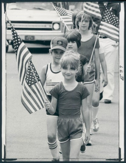 1979: Fourth of July parade in Dundalk, Maryland. (Baltimore Sun Photo)