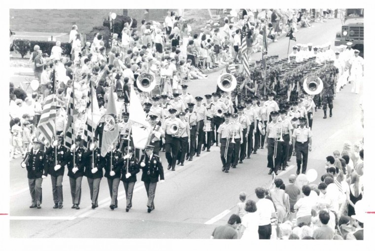 1991: Fourth of July parade in Towson, Maryland. (Baltimore Sun Photo)