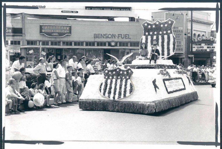 1957: Fourth of July parade in Towson, Maryland. (Baltimore Sun Photo)