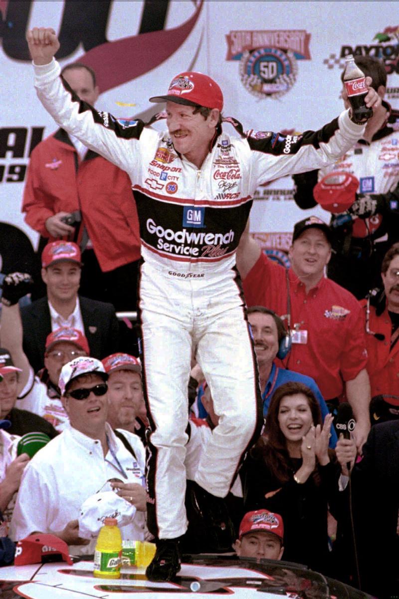 Dale Earnhardt Wins Daytona 500
