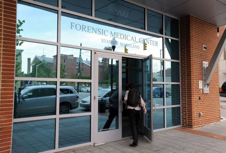 Located in West Baltimore, the 120,000-foot Forensic Medical Center houses the Office of the Chief Medical Examiner. Maryland is home to the largest free-standing Medical Examiner's Office in the country. (Lloyd Fox / Baltimore Sun Photo)