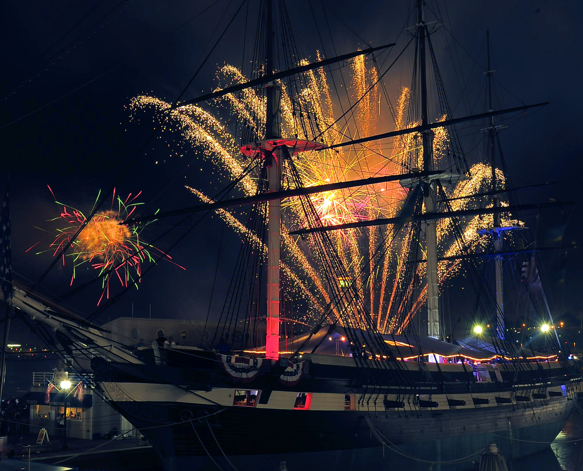 Fourth of July fireworks and celebrations from Baltimore and around the nation