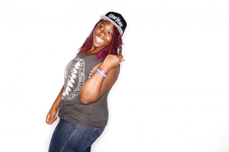 Danisha Harris, of Baltimore United Viewfinders (Jen Rynda/BSMG)