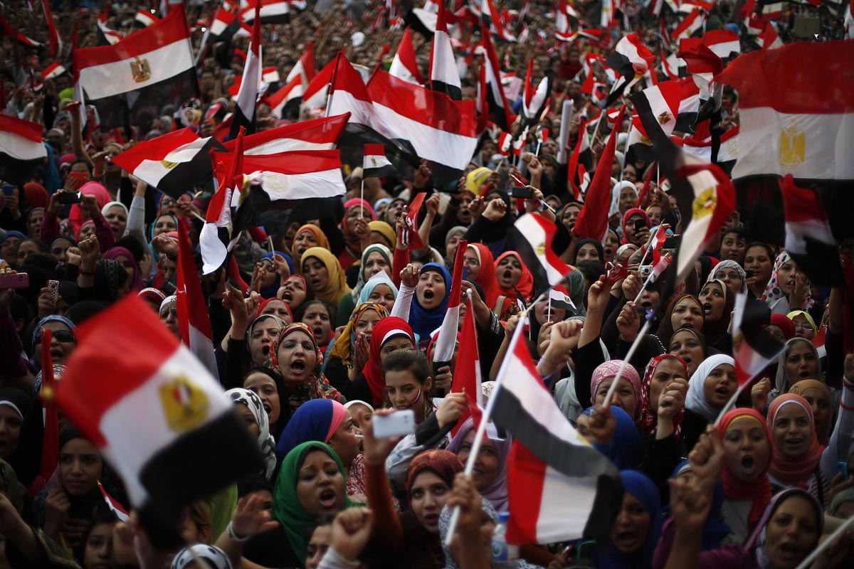 July 1 Photo Brief: Protests in Egypt, Brazil wins FIFA Confederations Cup, Tour de France