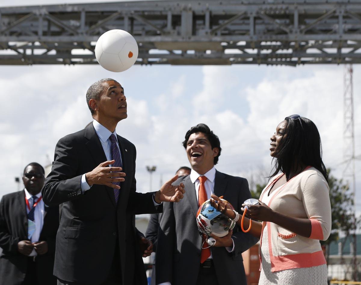Después de apuntarle a la FIFA, Obama cuestionó al COI