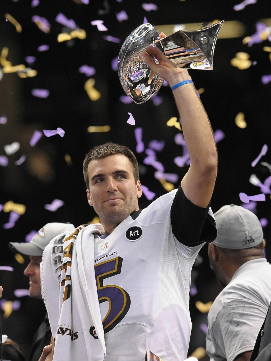pretty nice f029b 11082 Ravens win Super Bowl