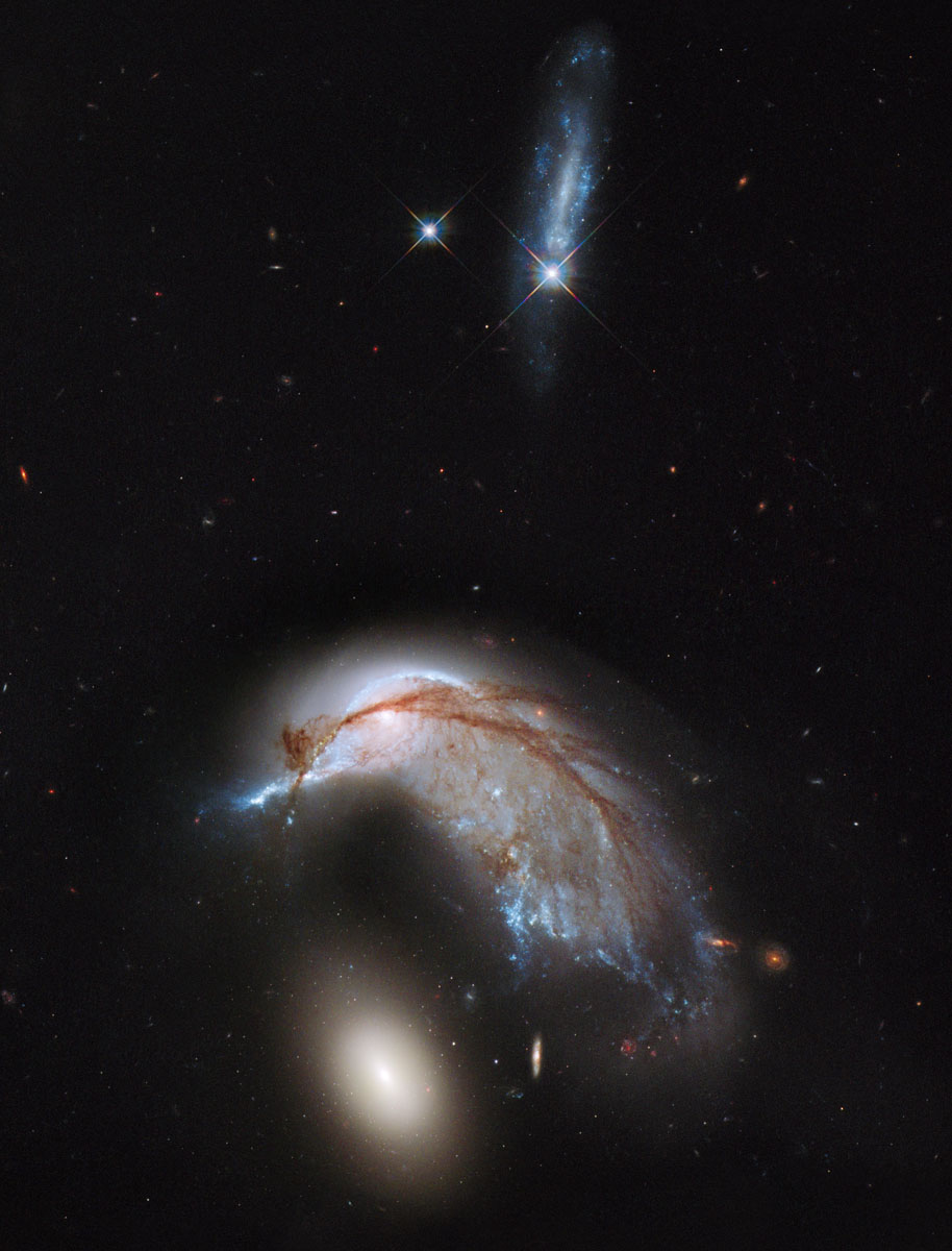 Hubble Space Telescope captures pictures of the universe