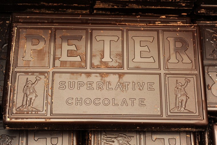 Wockenfuss Candies uses Peter's Chocolate from Lititz, Pa., to make their candy. (Algerina Perna/Baltimore Sun)