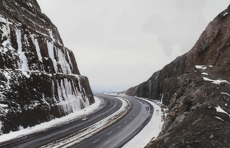 This is a photograph of Sideling Hill. (Timothy G. Hyman/Maryland State Highway Administration)