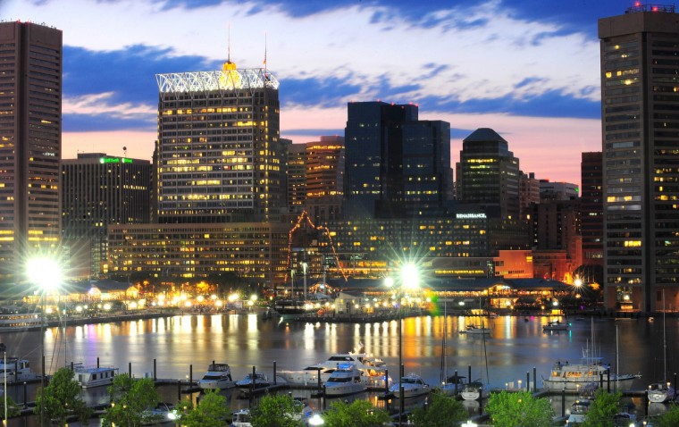 A picture of the Inner Harbor in 2010. (Gene Sweeney, Jr./Baltimore Sun)