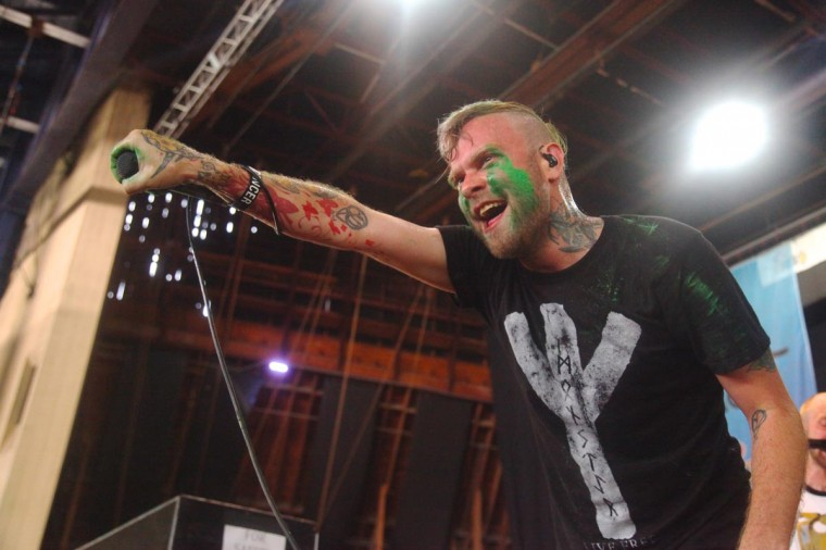 Vans Warped Tour 2013: The Used performed July 10 at Merriweather Post Pavilion. (Credit: Kaitlin Newman)