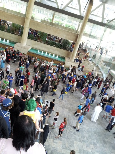 Anime and video game fans pack into the Baltimore Convention Center for Otakon. This is Otakon's 20th anniversary year. (Carrie Wood/For the Darkroom)