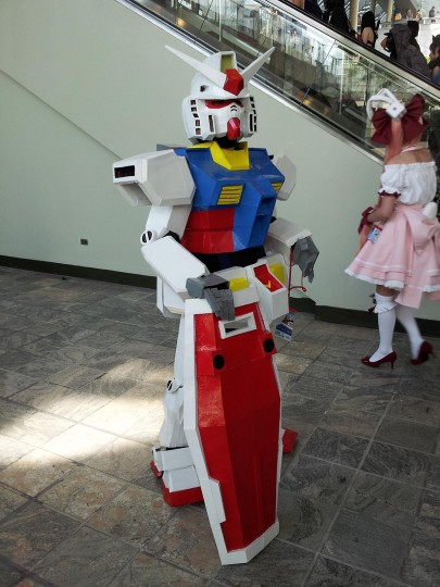 An Otakon 2013 attendee dressed as a titular machine from Mobile Suit Gundam 0079. (Carrie Wood/For the Darkroom)