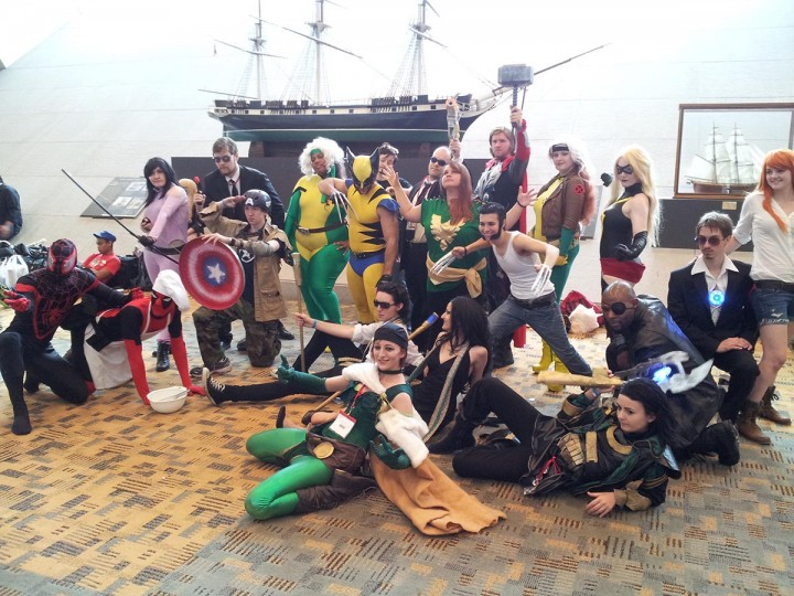 Otakon isn't just about Japanese animation - Marvel comics get plenty of attention too. (Carrie Wood/For the Darkroom)