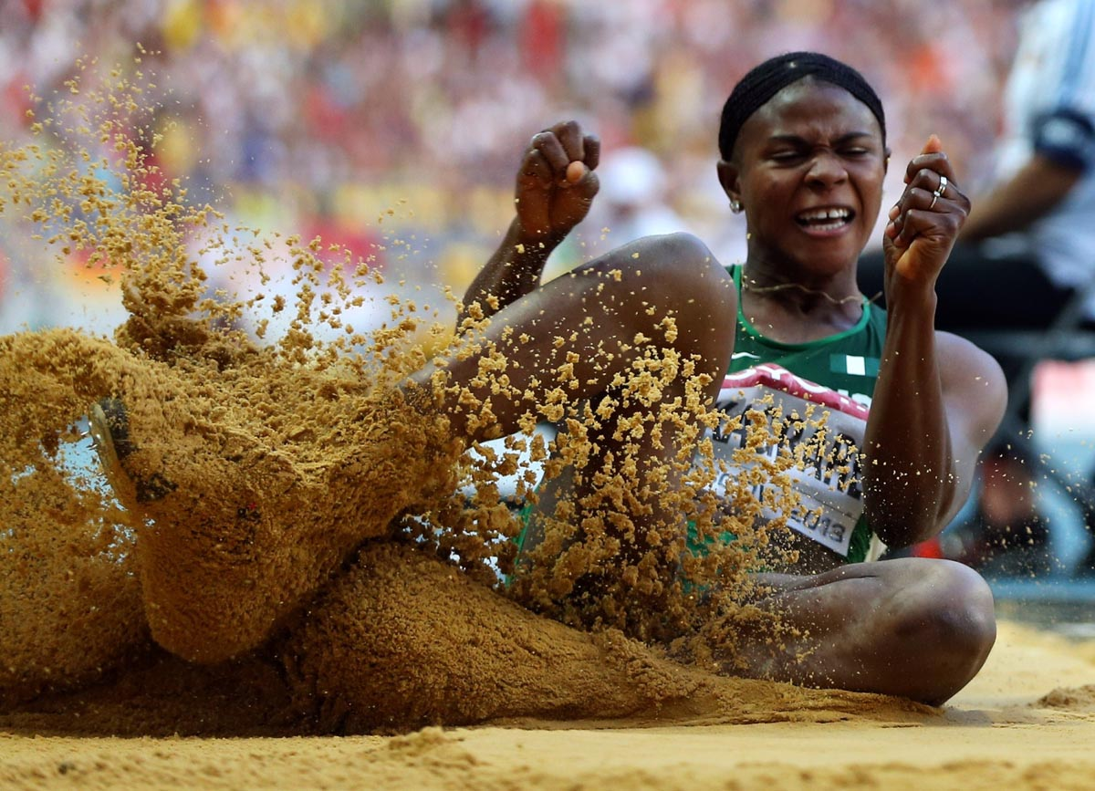 Blessing Okagbare banned form 2016 Olympics.
