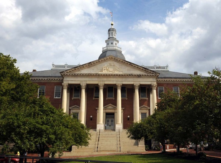 This is the second dome on the State House. Algerina Perna/Baltimore Sun