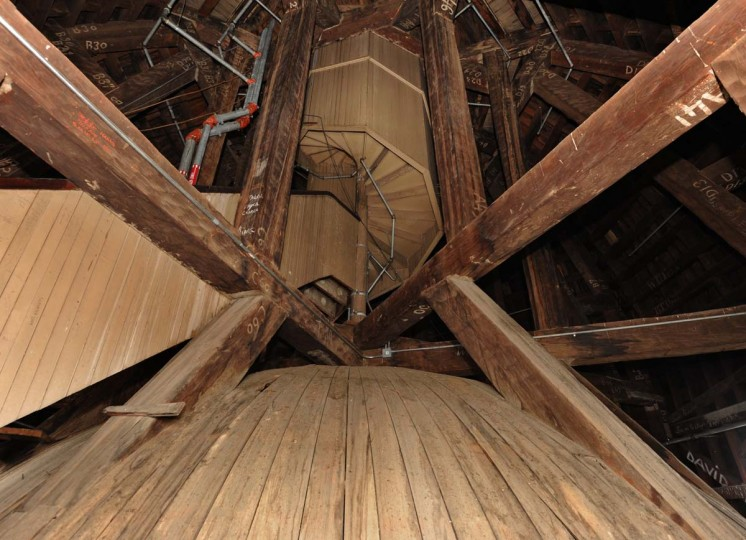 The structure is the largest wooden dome in the country. Algerina Perna/Baltimore Sun
