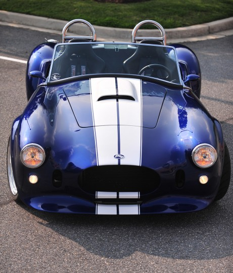 Pictured is a completed 427 Roadster from FII Roadsters at their plant in Crofton, Md. (Gene Sweeney, Jr./Baltimore Sun)