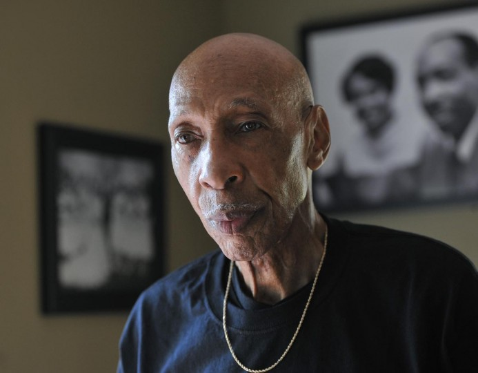 Jim Griffin, 81, was not active in the Civil Rights Movement until after he watched the Aug 28, 1963 March on Washington on TV. The next day, he went to the Baltimore office of the Congress on Racial Equality (CORE), signed up, and became the CORE president for the next four years. (Kim Hairston/Baltimore Sun)