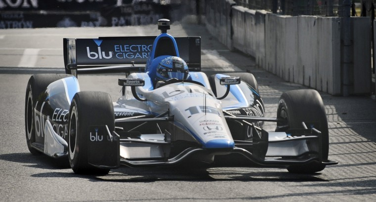 Indycar driver Graham Rahal practice during the Grand Prix of Baltimore. (Kenneth K. Lam/Baltimore Sun)