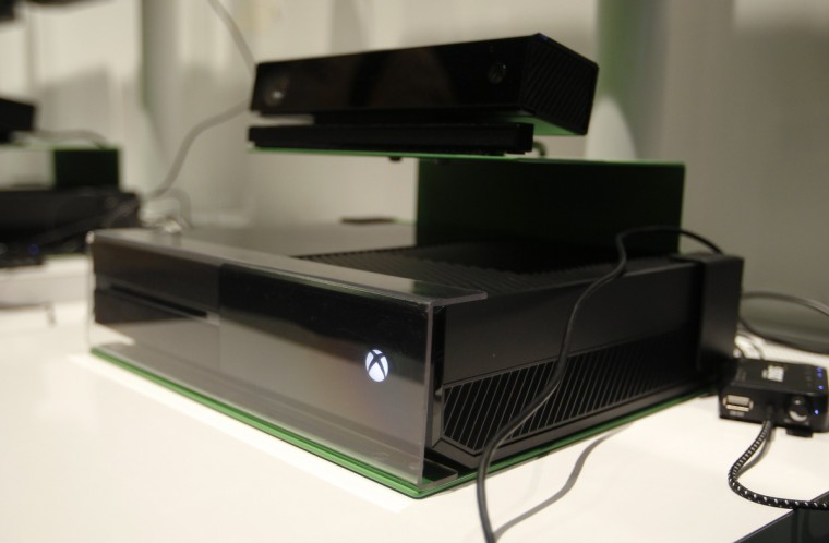 The Xbox One is pictured at the Microsoft Games exhibition stand during the Gamescom 2013. Microsoft Corp has said it will start selling its latest console Xbox One, its first new gaming console in eight years, at some point in November. (Ina Fassbender/Reuters)
