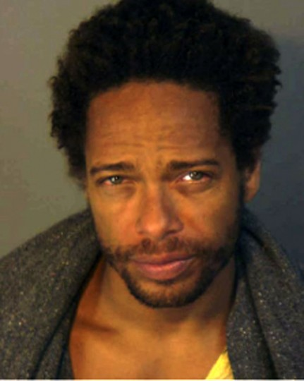 "Actor Gary Dourdan, star of the television drama ""CSI: Crime Scene Investigation"", is shown in this police booking mugshot from the Palm Springs, California Police department released to Reuters April 29, 2008. Actor Dourdan, who co-stars on the CBS television hit ""CSI: Crime Scene Investigation,"" has been arrested on suspicion of possessing cocaine, heroin and other drugs, police said on April 29, 2008. REUTERS/Palm Springs Police Department/Handout"