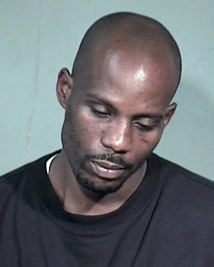 "Rapper Earl ""DMX"" Simmons is shown in this Maricopa County Sheriff's Department booking photograph taken on July 2, 2008. DMX was arrested at a store in Florida on August 14, 2008 for failing to appear in an Arizona court on drug charges, authorities said. REUTERS/Maricopa County Sheriff Department/Handout"