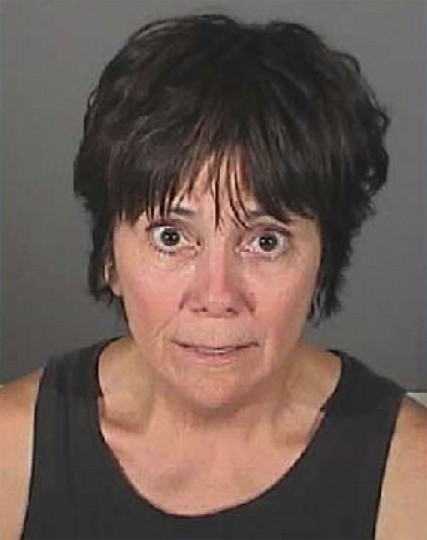 "Actress Joyce DeWitt is shown in this El Segundo, California police department booking photograph released to Reuters July 6, 2009. DeWitt, star of the ""Three's Company"" TV series, was arrested in El Segundo, California July 4, 2009 for suspicion of DUI. REUTERS/El Segundo Police Department/Handout"