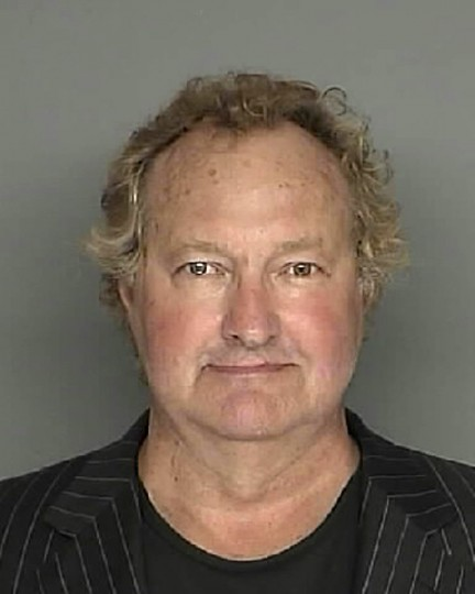 Actor Randy Quaid is shown in this Santa Barbara County Sheriff booking mug shot released to Reuters April 27, 2010. Quaid and his wife Evi were jailed for a few hours on April 26, 2010 after missing several court dates related to a charge that they failed to pay a California hotel bill last year. REUTERS/Santa Barbara County Sheriffs Office/Handout