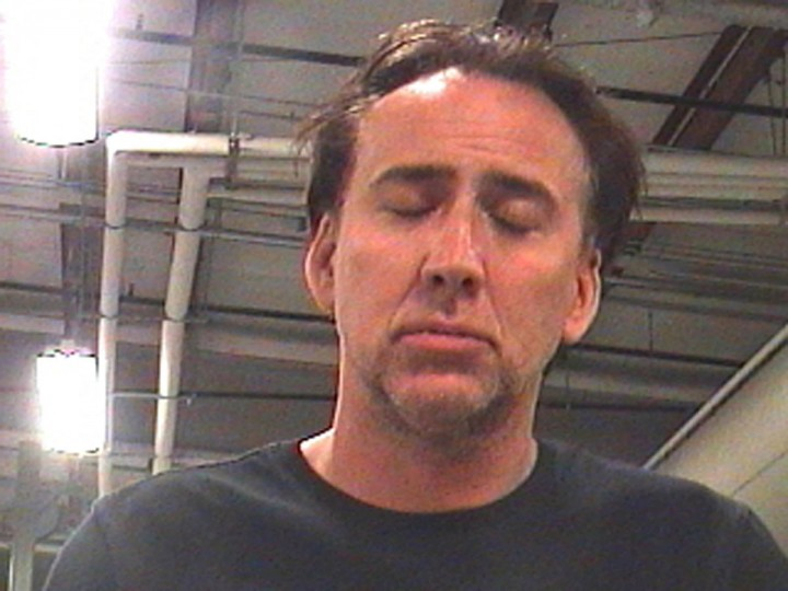 Actor Nicolas Cage is pictured in this booking photograph released on April 16, 2011. Cage has been arrested in New Orleans after a drunken argument with his wife outside a residence in the French Quarter, police said on Saturday. REUTERS/Orleans Parish County Sheriff's Office/Handout (