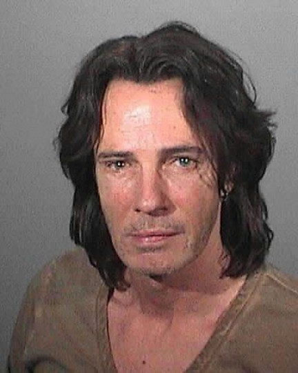 Singer Rick Springfield is shown in this police booking mug shot released by the Los Angeles County Sheriffs Department released to Reuters May 2, 2011. Springfield was taken into custody May 1, 2011 on suspicion of driving under the influence of alcohol. REUTERS/LASD/Handout