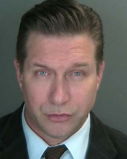Actor Stephen Baldwin is seen in this undated police booking photo supplied by Rockland County District Attorney's office and released to Reuters December 6, 2012. Baldwin has been charged with failing to file New York state income taxes for three years according to court papers filed December 6, 2012. REUTERS/Rockland County District Attorney/Handout