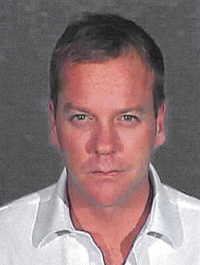 "Actor Kiefer Sutherland is pictured in this police booking photograph released by the Glendale California Police Department December 5, 2007. Sutherland, star of the hit television series ""24,"" was formally sentenced on Wednesday to 48 days in jail for drunken driving, and his lawyer said the actor would begin doing time immediately with Sutherland serving the 48 days consecutively at the Glendale, California city jail. REUTERS/Glendale California Police Department/Handout"