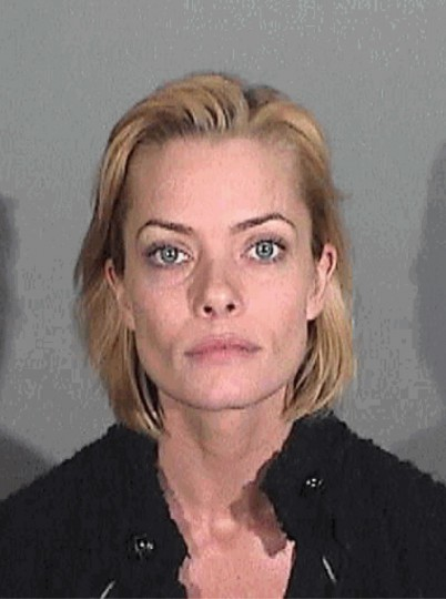 "Actress Jaime Pressly is shown in this January 6, 2011 booking photograph from the Santa Monica Police Department. Pressly was charged with two counts of drunken driving on February 1 following her arrest last month in Santa Monica, California. Pressly, 33, best known for her Emmy-winning role as a trailer-trash temptress in ""My Name is Earl,"" had a blood-alcohol level of 0.20 percent or more, which is more than twice the legal limit of 0.08 percent, according to the complaint filed by the Santa Monica city attorney's office. REUTERS/Santa Monica Police Department/Handout"