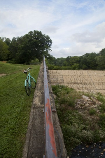 Located at 6101 Falls Road, Robert E. Lee Park makes for a lovely destination to enjoy some natural scenery. Upon reaching the end of the walkway, visitors will be rewarded with a picturesque vista overlooking the stone dam from atop a grassy hill. (Scott Bradley/Baltimore Sun)