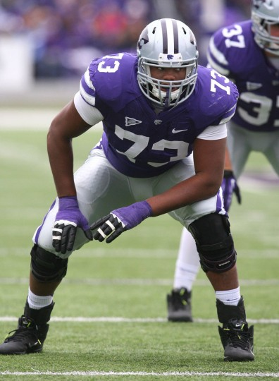 Name: Tavon Rooks College: Kansas State Position: Offensive lineman Year: Senior High school: Woodlawn Hometown: Randallstown 2012 stats: Playing in 13 games, starting 10. Earned honorable mention All-Big 12 honors from the Associated Press. Rooks might be considered a late bloomer, given that he never made a Baltimore Sun All-Metro team or was highlighted in a football preview issue. But after starring two years at Navarro College in Corsicana, Texas, Rooks got his chance to perform at the highest level of college football last year with Kansas State. The No. 23-ranked junior college player in 2011 according to Rivals.com, Rooks started for the Wildcats in 10 out of 13 games last season and is expected to man the right tackle spot again as a senior. Photo credit: USA Today Sports