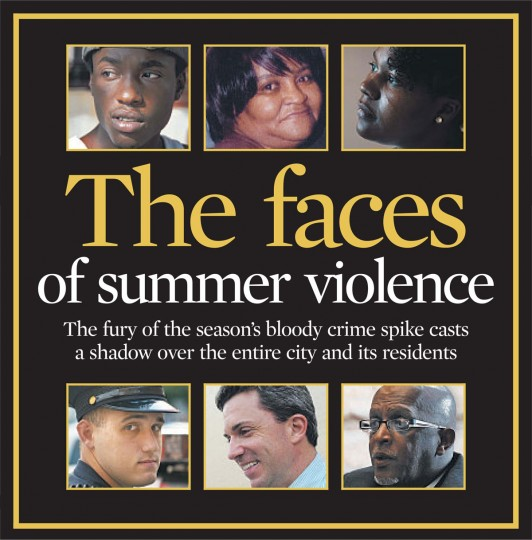 The faces of summer violence