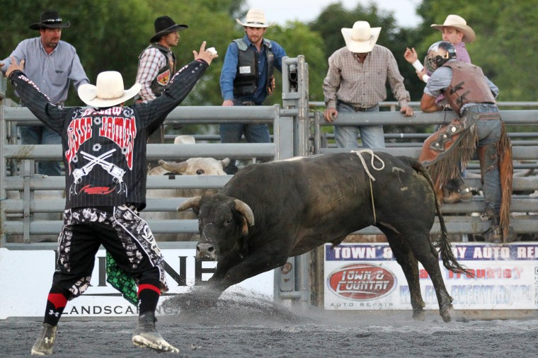 """The """"Bull Blast! 2013"""" at the Howard County Fair in West Friendship on Monday, August 5, 2013. (Jen Rynda/BSMG)"""