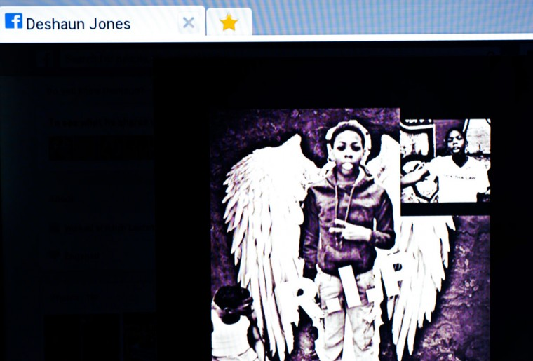 Friends offered tributes to Jones on a Facebook page.