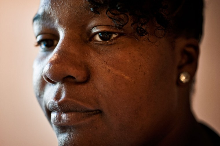 "Stewart struggles with guilt over the fallout from an earlier shooting that hit Webb last year. ""I should have never said nothing when I was in the police station,"" she said through tears at her new home. ""Sometimes I wonder … did this all happen because of what I did, or what I said?"""