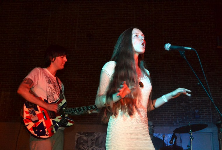 The Great American Canyon Band performs Aug. 31 at Scapescape's North Avenue Lot. (Steve Earley/Baltimore Sun)