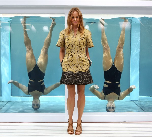 Designer Stella McCartney attends the adidas by Stella McCartney presentation at London Fashion Week SS14 in London, England. (Tim P. Whitby/Getty Images)