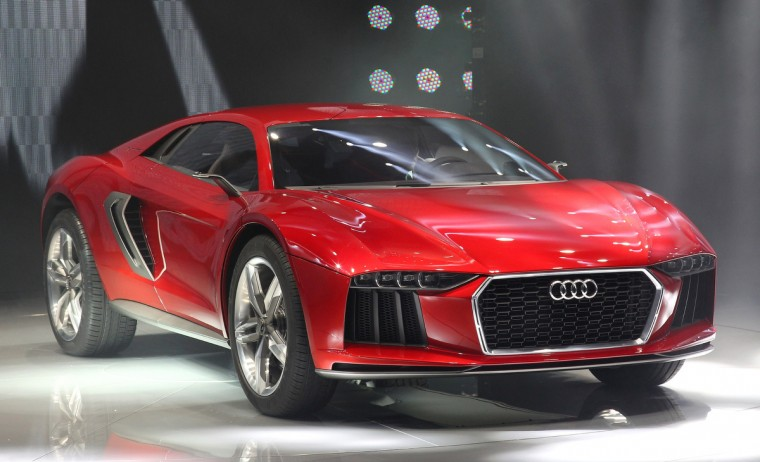 An Audi Nanuk Quattro concept car is presented during the media day of the IAA (Internationale Automobil Ausstellung) international motor show in Frankfurt am Main, western Germany. (Daniel Roland/Getty images)